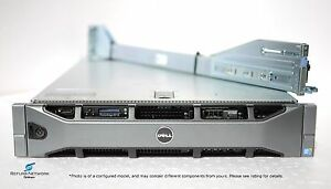 Dell PowerEdge R710, 2x E5620 Quad core, 96GB RAM, PERC 6/i, Rails, Custom HDD