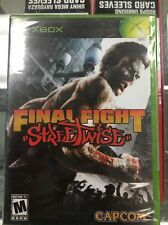 Final Fight: Streetwise XBOX - Brand New Original Factory Sealed