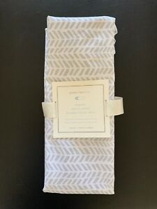 Pottery Barn Kids Organic Sateen Arrow Bassinet Fitted Sheet