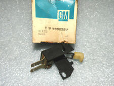 1969-70 PONTIAC BONNEVILLE CATALINA HEATER CONTROL VENT SWITCH WITH A/C  NOS GM