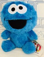 """New Sesame Street Cookie Monster Plush 50th Anniversary Big Head Toy FACTORY 10"""""""