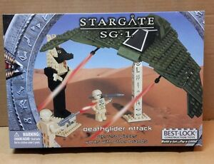 Stargate SG-1 Best-Lock Construction Toy Death glider Attack  250+ pieces