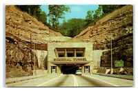 Postcard WV Approach to $5M Memorial Tunnel, Turnpike MA13