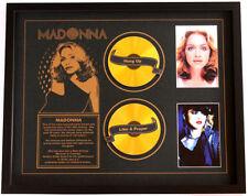 New Madonna CD Memorabilia Framed