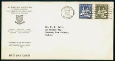 CANADA FDC 1965 COVER CHRISTMAS COMBO