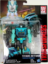 Transformers: Titans Return ~ SERGEANT KUP & FLINTLOCK ACTION FIGURES ~ Deluxe