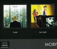 Moby - Hotel/Last Night [New CD] UK - Import