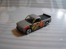 HOT WHEELS  loose = CHEVY 1500 PICK UP =  SILVER   sb