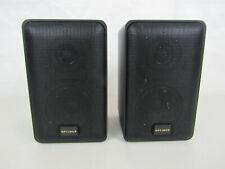 Pair of Optimus PRO-X33AV 2-Way Mini Speakers 40-2079