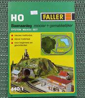 Faller -- Modellbau Katalog 840/1 - Sprache Niederländisch