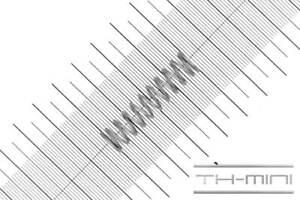 Edelstahl Außen Ø: 17mm Länge: 68,1mm Druckfeder Drahtstärke: 1mm