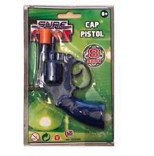 CAP PISTOL GUN CAPS RINGS SURE 8 SHOT PLASTIC KIDS CHILD TOY OUTDOOR