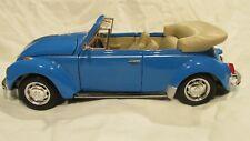 Welly Volkswagen escarabajo convertible luz Blue 1 24 escala de metal Dc2459