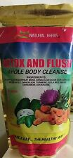 Natural Herbs Detox and Flush Whole Body Cleanse for 21 days 14 oz