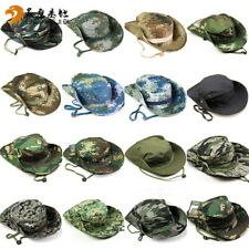 Camouflage Tactical Cap Military Boonie Hat Army Camo Outdoor Sports Folding Cap