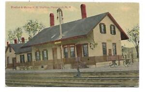 Penacook, NH - Train Station Depot