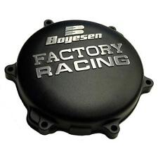 BOYESEN BLACK FACTORY RACING ENGINE CLUTCH COVER + GASKET 05-2017 YAMAHA YZ 125