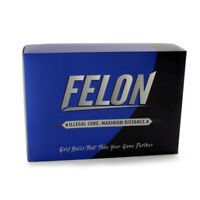 New Diamond Tour Golf Felon ILLEGAL Golf Balls UP TO 30 YARDS FARTHER - 1 Dozen