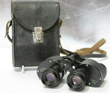 Vintage USSR 6x24 Binoculars w/ Black Leather Case - 232