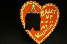 Vintage Braces & Pants Valentine Card 1930S