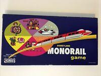 Vintage 1960 Disneyland Monorail Board Game Walt Disney 100% Complete EXCELLENT