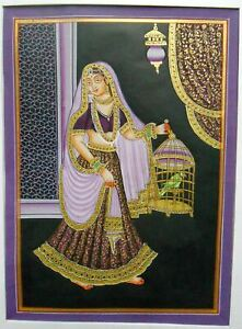Maharani Painting Home Decorative Wall Hanging Silk Painting
