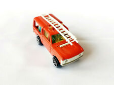 Majorette 1/60 Nr. 246 Range Rover Rescue Unit mit Leiter / 1978 Made in France
