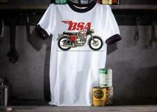 BSA A65 Mens Motorcycle Ringer T-Shirt - Size XL 50''
