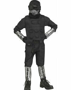 Gaming Fighter Tactical Uniform Video Game Fortnite Inspired Kids Costume SM-LG
