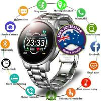 Unisex Sports Smart Watch Heart rate Blood Pressure Waterproof Android IOS 2020