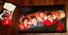 Niall Horan And One Direction girls Purse Makeup Tote Bag Handbag Black