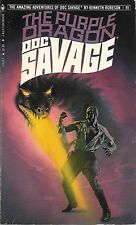 DOC SAVAGE #91: THE PURPLE DRAGON  by Kenneth Robeson - 1st Paperback Printing