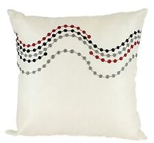 One Duck Two Ziggy cream cushion cover with embroidery 45 x 45