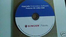 Singer Futura Upgrade 2.5 Software for the CE 100 or CE 200 + BONUS !!