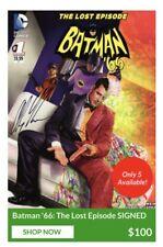 Alex Ross Cover Batman '66: The Lost Episode SIGNED Exclusive Variant DC Comics