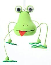 Frosch hellgrün Federtier Schwingfigur Hüpftier Mobile Federfiguren Jumper
