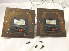 Two (2) Vintage MARANTZ SPEAKER ~ Crossovers - Model # HD660