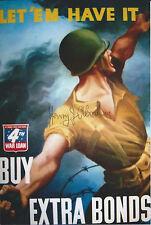 Henry Abraham Signed 4x6 Photo SHAEF Nuremberg War Crimes Trial WW2 US Army
