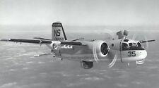 Grumman S-2 Tracker US Navy S2 Airplane Desktop Wood Model Big New