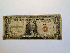 *WOW* 1935-A $1 *Hawaii* WWII Emergency Issue Silver Certificate Bill