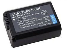 Power Battery(1500mAh) for Sony NP-FW50 and Sony Alpha 7,7II,7R,7S,a3000