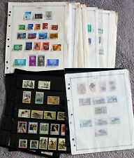Zambia. Large stamp collection. Mint & used.
