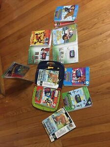 Reading And Writing Leapad Huge Lots Comes With 7 Books And Cartridges, Extras