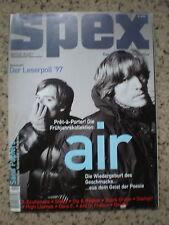 SPEX Magazin 207 Feb. 1998 Nr. 2 Leserpoll'97 Pret-a-Porter Air Sly & Robbie