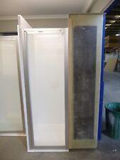 600mm Wide Small Shower Screen 4 Fibreglass RV Caravan Enclosure Bathroom Use