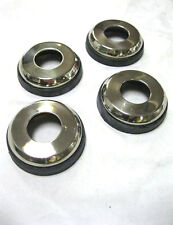 1953 - 1955 Ford Pickup Truck Stainless Steel SS Door Handle Escutcheons Set (4)