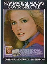 1979  KIM ALEXIS  for COVER GIRL blends color Magazine Print AD