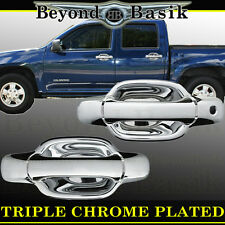 2004-2012 CHEVY COLORADO 2-Door Chrome Door Handle COVERS Trims W/Out PSK