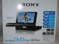 Rare New Sony 8-Inch Portable DVD Player - Cherry Red (DVP-FX810/R)