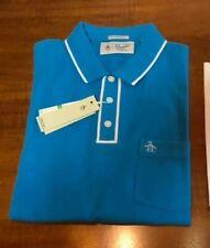 Polo shirt Original Penguin taglia size L mods casual skin ultras british blue